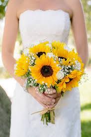 sunflower wedding bouquet best 25 sunflower wedding bouquets ideas on sunflower