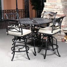 Patio Table Bar Height Bar Height Patio Furniture Amazing Counter Height Patio Table Or