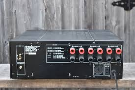 yamaha stereo power amp m 80 amplifiers vintage audio exchange