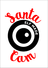 santa cam svg dxf pdf cuttable file santa camera christmas