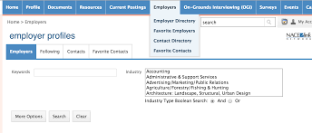 how to optimize your cavlink job search uva career center