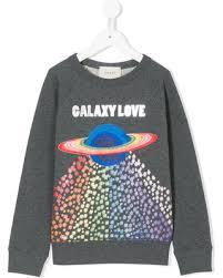 get the deal gucci kids planet print sweatshirt grey