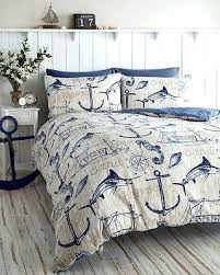 themed duvet cover nautical duvet embroidered anchor bedding nautical duvet themed