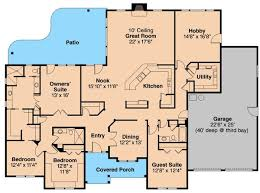 Free House Plans With Basements Crafty Design 5 Bedroom Ranch House Plans Bedroom Ideas