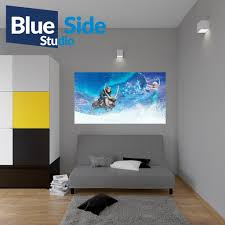 wall decals stickers home decor home furniture diy frozen movie characters poster self adhesive wall sticker art decal mural