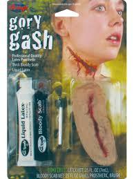 halloween makeup kits professional gory gash fx kit fancy dress make up halloween horror zombie