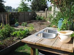 backyard gear water station plus outdoor sink all about home design