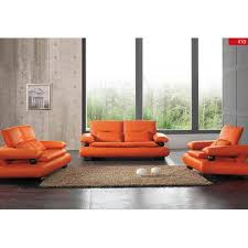 Sleek Modern Furniture by 410 Sleek Modern Leather Sofa Set By Noci Design U2013 City Schemes