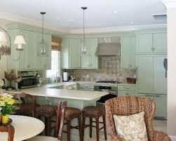 Green Kitchen Cabinets Green Cabinets Kitchen