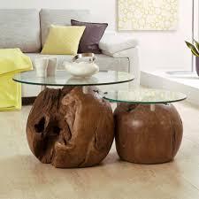 beistelltische echtholz beistelltisch aus massivholz beistelltisch set laola aus