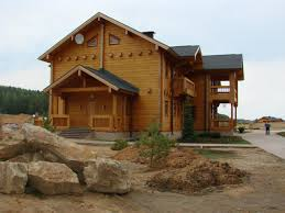 Luxury Log Home Plans Artichouse The Patriot