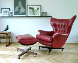 eames chair living room ottomans vintage eames style lounge chair and ottoman original