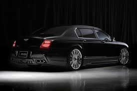 bentley continental flying spur wald bentley continental flying spur black bison edition picture