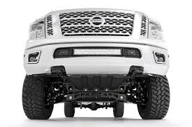 nissan titan diesel release 6in suspension lift kit for 16 17 4wd nissan titan xd pickups