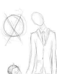 slender man drawing by giraffeaggression on deviantart