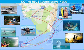 Map South Florida by Do The Blue U2013 Extreme Rv Adventures