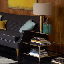 Side Table In Living Room Terrace Side Table West Elm