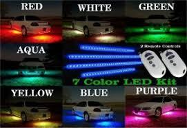 installing led lights in car 7 color led under car lights to enhance your car s appearance led