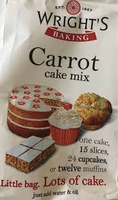 wright u0027s carrot cake mix