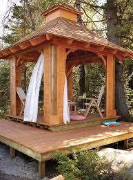 wooden gazebo plans inspirations and cedar wood designs octagon
