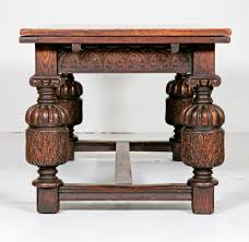 elizabethan era table bulky cup and cover legs elizabethan