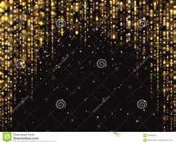 Sparkle Christmas Lights by Abstract Gold Glitter Lights Vector Background With Falling