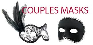masquerade masks for couples masks masquerade masks couples masks page 1 chicago costume