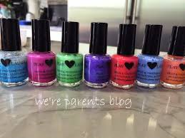 play love laugh natural nail polish review u0026 giveaway we u0027re parents