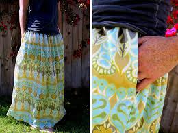 pattern for simple long skirt make an easy summer maxi skirt spoonflower blog