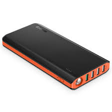 amazon com easyacc 20000mah power bank 4a dual input 4 8a smart