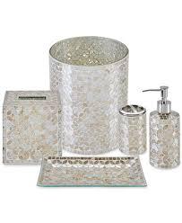 jla home cape mosaic bath accessories a macy u0027s exclusive style