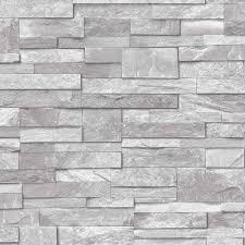 Stone Brick by 3d Slate Stone Brick Effect Wallpaper Washable Vinyl Stone Sand