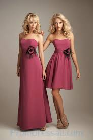 bridesmaid dresses online buy tailor made floral trimed waist sweetheart a line custom made