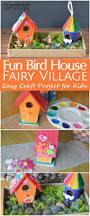 diy bird house fairy garden craft for kids