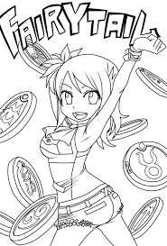 fairy tail chapter 223 lineart lucy by natsu9555 on deviantart