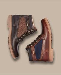 rockport men u0027s rugged bucks high boots in brown for men lyst