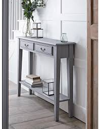 small half moon console table with drawer console tables small narrow hallway with storage modern table
