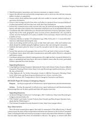 Oracle Dba Resume Example Section 4 Develop An Emergency Preparedness Program A Guide To