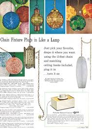 1954 spiegel catalog lamps catalog and mid century sears 1968 catalog lighting page showing a variety of swags lamps to brighten your decor