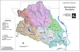Portland County Map by Maps Tualatin River Watershed Council