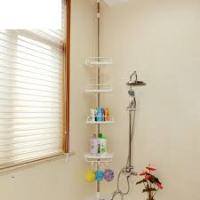 Corner Bathroom Storage by Well Wreapped Bathroom Storage Corner Bathroom Corner Shelf