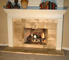 travertine fireplace binhminh decoration