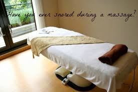 comfort soul massage table that awkward moment when you start snoring during a spa massage