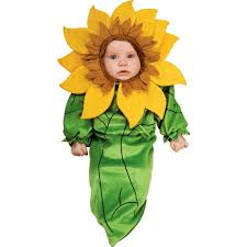 Flower Baby Halloween Costume Sunflower Infant Halloween Costume Walmart