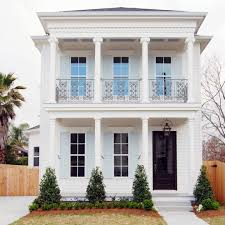Southern Colonial House Impressive White House Decorating Ideas For Handsome Exterior