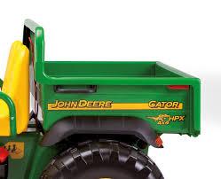 gator power wheels john deere gator hpx 2 seater 12v tractor
