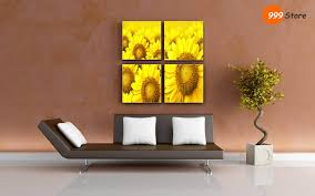 decorations cheap living room wall art canvas silhouette of