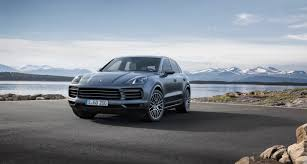 porsche night blue the 2019 porsche cayenne has a familiar face that hides new