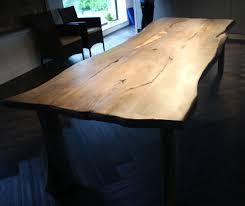 Esszimmer Eiche Rustikal Esstisch Eiche Tischplatte Grau Ruhbaz Com