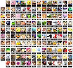All Meme Names - image huge character roster super smash bros brawl 6070752 1157